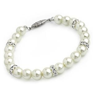 8mm Faux Pearl Trendy Fashion  Bracelet,Party,Casual