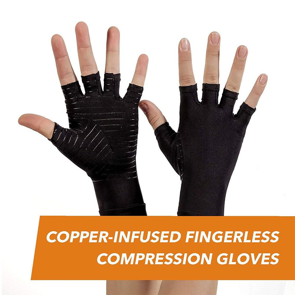 Copper Infused Anti Arthritis Gloves