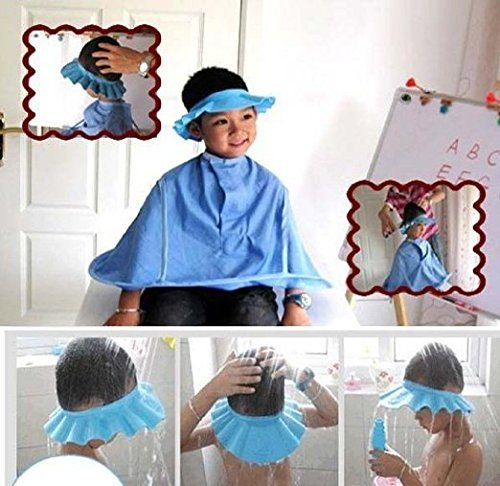 Safe Shampoo Shower Bathing Bath Protect Soft Cap Hat for Toddler Baby Children Kids   FREE UK Delivery