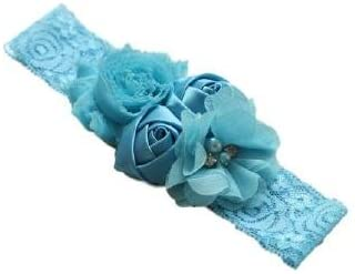 Shabby Chiffon Lace Cute baby Girl Bow Flower Headband Toddler Baby Children Kids   FREE UK Delivery