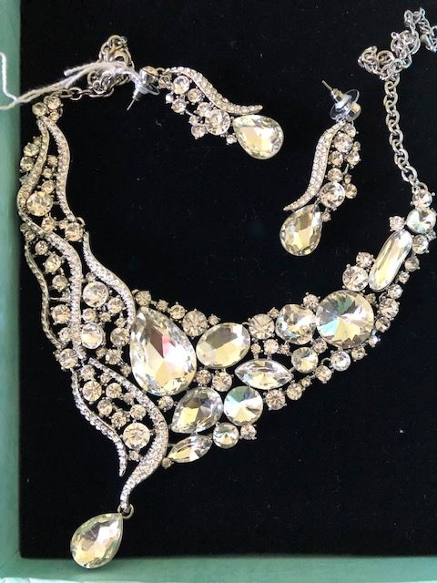 Statement Jewellery Celeb Style  Necklace & Earring Necklace Wedding Prom Specials(A) (1)