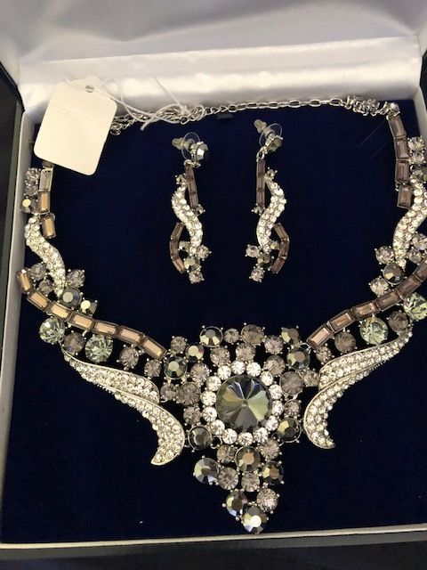 Statement Jewellery Celeb Style  Necklace & Earring Necklace Wedding Prom Specials(A) (3)