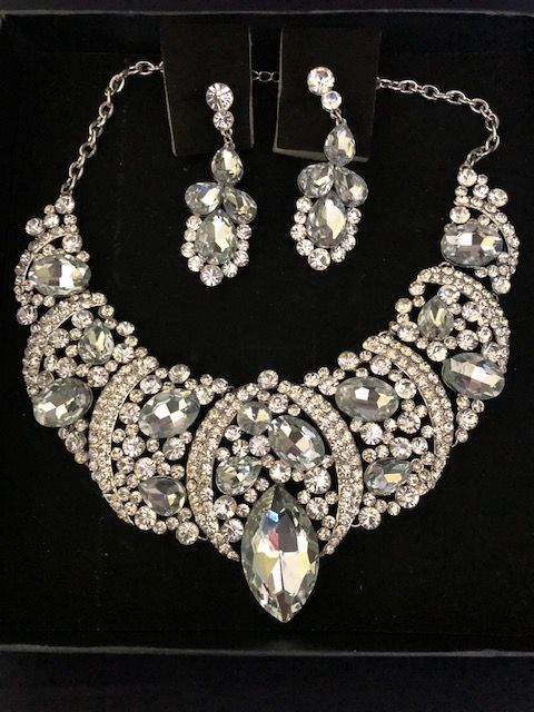 Statement Jewellery Celeb Style  Necklace & Earring Necklace Wedding Prom Specials(A) (4)