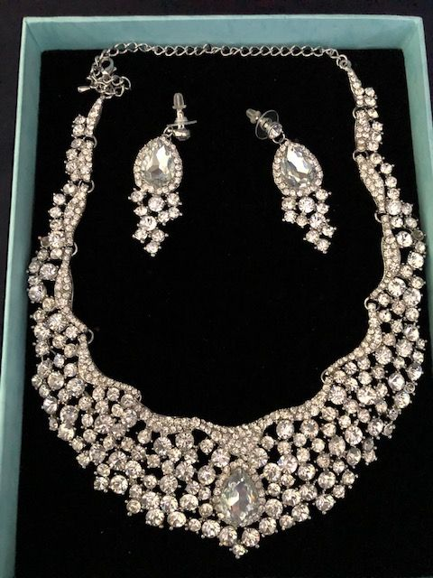 Statement Jewellery Celeb Style  Necklace & Earring Necklace Wedding Prom Specials(A) (5)